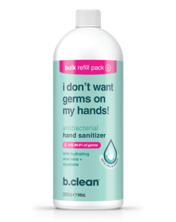 Żel do dezynfekcji rąk 946 ml - i don't want germs on my hands