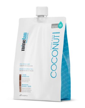 MineTan Coconut Water - Płyn do Opalania Natryskowego 1L