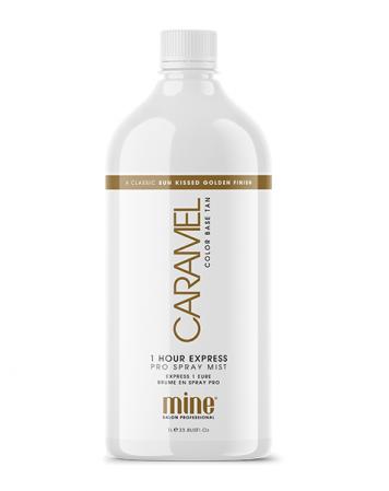 MineTan Caramel - Płyn do Opalania Natryskowego 1L