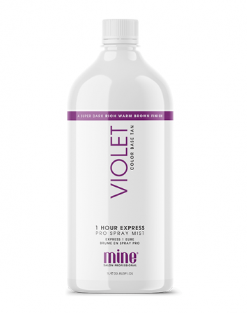MineTan Violet - Płyn do Opalania Natryskowego 1L