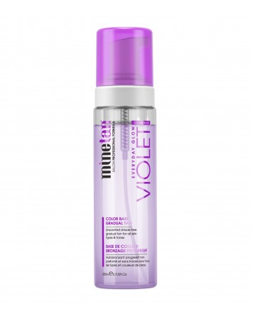 MineTan Violet Gradual Tan - pianka brązująca 200 ml