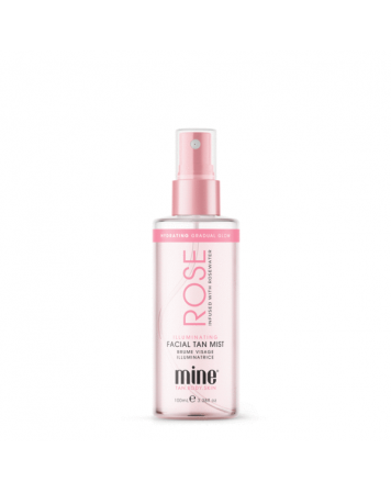 MineTan Rose Water - Samoopalacz do twarzy 100 ml